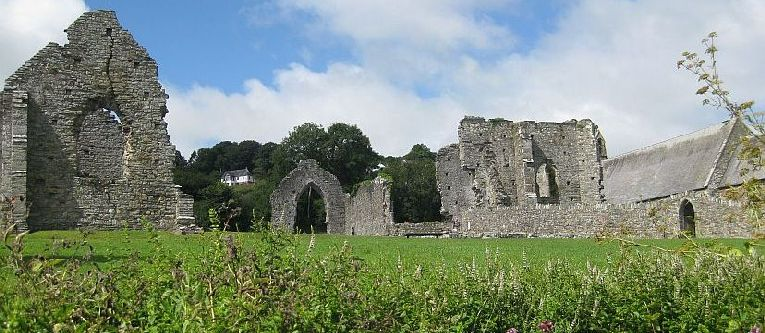 St Dogmaels Abbey near Cardigan